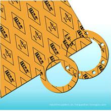 Hoja de la junta de no-amianto de la resistencia del aceite