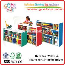 2014 novos armários de madeira para crianças, populares gabinetes de pré-escola de madeira, gabinetes de pré-escola de venda quente