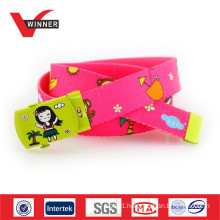 2015 Kids summer fun printed web belts