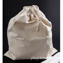100% Cotton Drawstring Hotel Laundry Bag