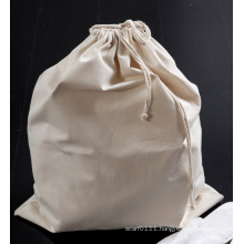 Cotton Clothes Washing Drawstring Hotel Laundry Cleaning Bag (YKY7401)