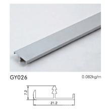 Perfil de alumínio para armário de cozinha