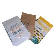 Square Bottom Kraft Paper with Custom Printing