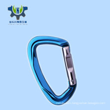 5KN aluminum 7075 swivel multi tool carabiner twist pet carabiner, hiking carabiner hook for out camping