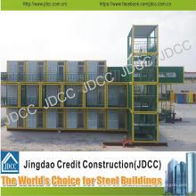 Bâtiment d'étudiants de bâtiment en acier léger de faible coût