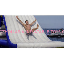 Durability Inflatable Water Slide For Kids , Non-rotting Yacht Slide