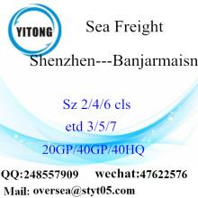Shenzhen Port Sea Freight Shipping till Banjarmaisn