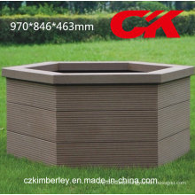 Cheap, Environment-Protecting Wood Plastic Composite WPC Flower Box