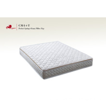 Pocket Spring With Latex Pillow Top Compress Mattress
