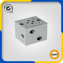 Bloque de válvulas hidráulicas para equipos de sistemas hidráulicos o equipos no estándar