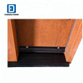 Fangda oval door set with the side light panel prehung