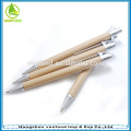 Eco recycle paper barrel ball pen with plastic sliver parts