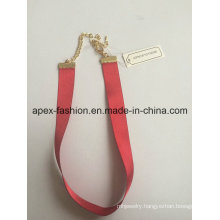 Simple and Elegant Choker with Red Color