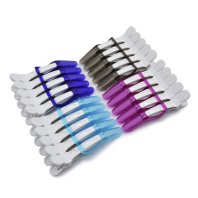 2021 Wholesale Plastic Fashion Clip for Salon Hairdressing Hair Clip