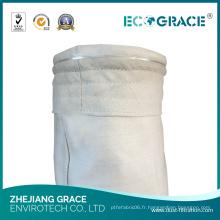 Sac filtrant industriel de PE pour la collection de poussière dans le filtre d'usine de papier
