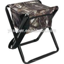 Cadeira dobrável portátil ao ar livre com saco