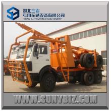 6X6 Beiben Traktor Kopf Log LKW