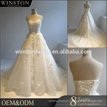 Лучшее качество продажи на заказ свадебные платья из Китая