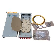Caja de terminales de fibra óptica para interiores de 12 núcleos