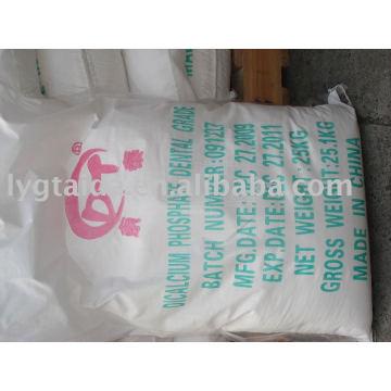 Fosfato dicálcico - grau alimentar e grau farmacêutico ISO9001: 2008