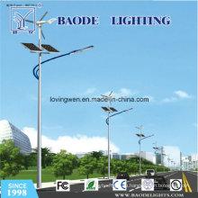 10м-Полюс-70w вело и 300 Вт ветра гибридный Солнечный уличный свет (BDTYNSW2)