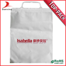 PE Handle Loop Packaging Bag