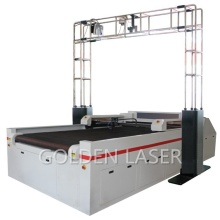 Laser Leather Cutter for Shoe with Projector & Camera