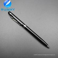 Nuevos bolígrafos promocionales del regalo del metal de los efectos de escritorio de la llegada para el suministro de oficina