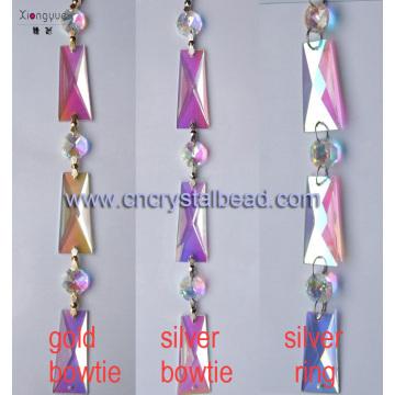 DL38 Kristall-Perlen Ketten