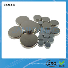 high quality small thin round magnet for sale