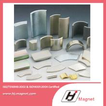 Горячая продажа постоянного типа сегмента мотор неодимовый магнит