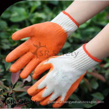 SRSAFETY 10G Knitted industrial rubber gloves