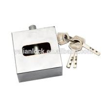 Quadrado tipo disco mecanismo aço padlock