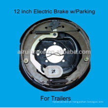Placa de freio elétrico de 12 polegadas para caravana de reboque
