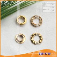 Ojales de latón de diamantes de imitación para la prenda BM1575