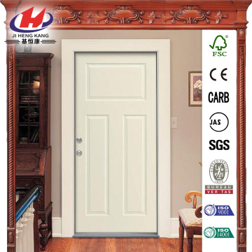 Craftsman 3-Panel Painted Premium Steel Prehung Front Door