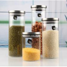 Glass food storage box