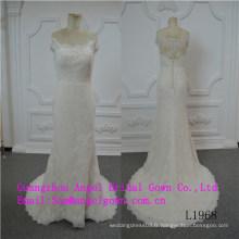 Robe de mariée de conception de beauté