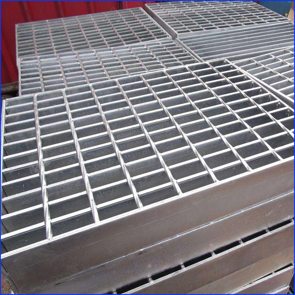 Forge-Welded Steel Grating Platform