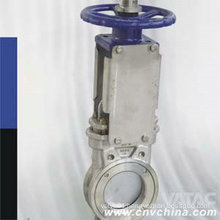 Cast Steel Body Cl125/Cl150 Wafer Knife Gate Valve