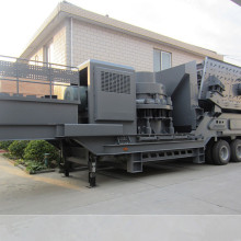 Used Mobile Cone Crushing Plant For Sale