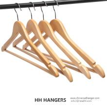 Basic Regular natürlichen Bar aus Holz Kleiderbügel für den Großhandel