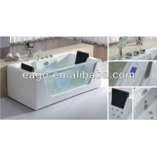 2013 new bathtub for two persons with glass panel (AM196)