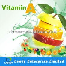 Alimento y vitamina A palmitato y acetato de vitamina A