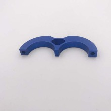 cnc milling machining color anodized aluminum milling parts