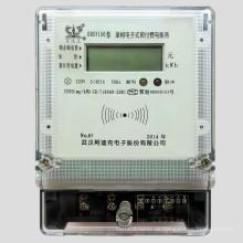 Einphasen-Prepaid Elektrizitätsgesteuerte Mehrraten-Wattstundenzähler