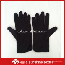 Benutzerdefinierte Logo gedruckt microfiber Elektronik Schmuck schwarze Handschuhe, Mikrofaser Handschuh Staubtücher, Reinigungshandschuhe