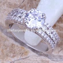 Moda cubic zirconia anel de casamento a granel comprar da china
