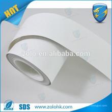 Water sensitive paper roll, Water sensitive label material