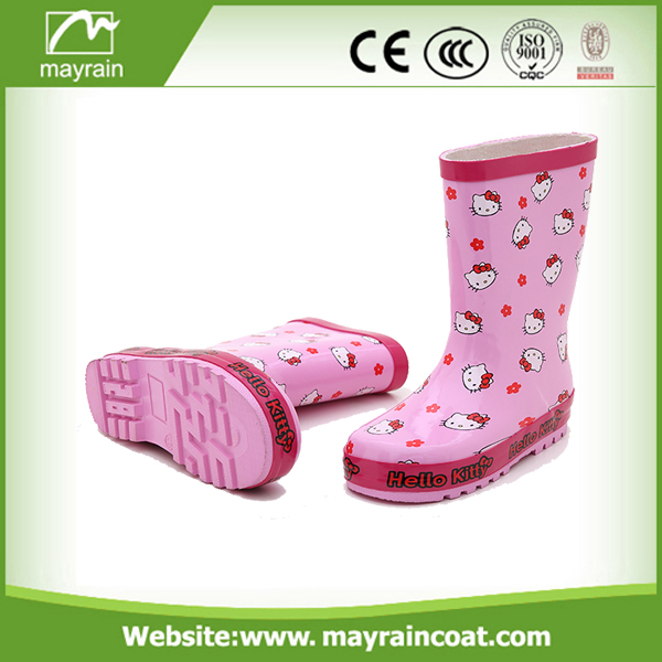 Cartoon Kids Rainboot